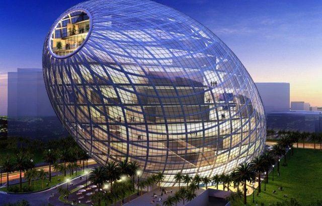 CyberTecture Egg – Tòa nhà đặc biệt nhất Mumbai, Ấn Độ