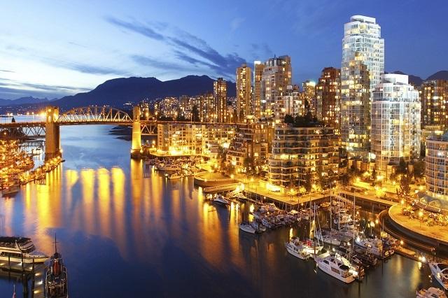 Thành phố Vancouver xinh đẹp của Canada