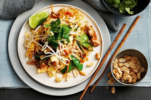 Pad Thái, món ăn không thể bỏ qua ở Thái Lan