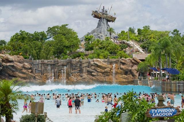 Disney's Typhoon Lagoon, công viên nước hàng đầu ở Mỹ