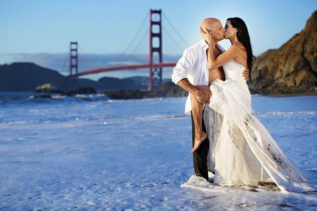 Đây còn là nơi lý tưởng để chụp ảnh cưới cho các cặp đôi