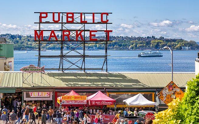 Chợ Pike Place– điểm đến không thể bỏ qua ở Seattle