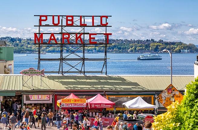 Chợ Pike Place là điểm đến hấp dẫn nhất Seattle