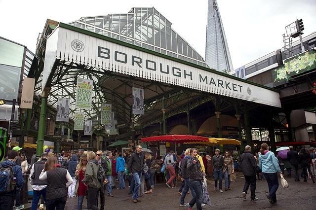 Borough – ngôi chợ lâu đời nhất ở London
