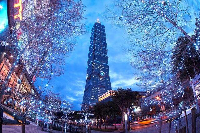 Tháp Taipei 101 nổi tiếng của Đài Bắc