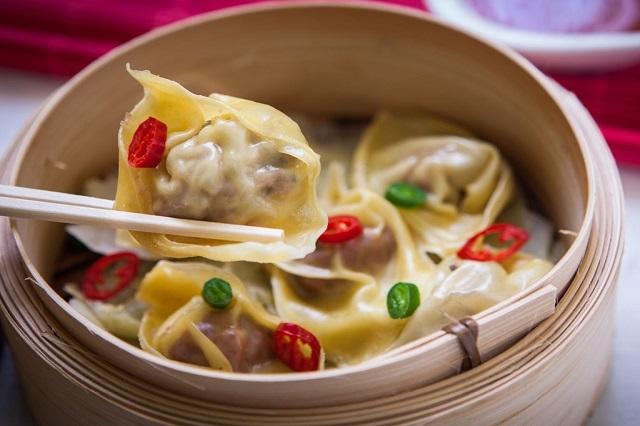 Dimsum là món ăn đường phố nổi tiếng ở Trung Quốc
