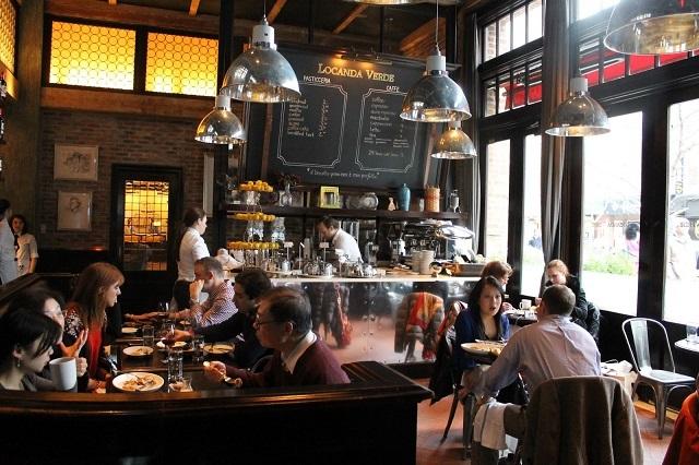Locanda Verde sẽ mang đến cho thực khách những món ăn Ý tuyệt vời