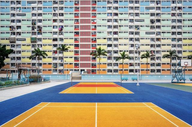 """Chung cư Cầu Vồng, một trong những địa điểm chụp ảnh """"cực chất"""" ở Hồng Kông"""