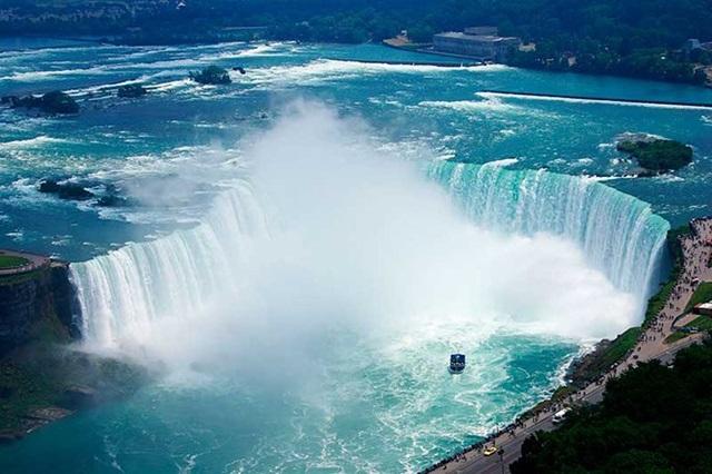 Vẻ đẹp tuyệt vời của thác Niagara