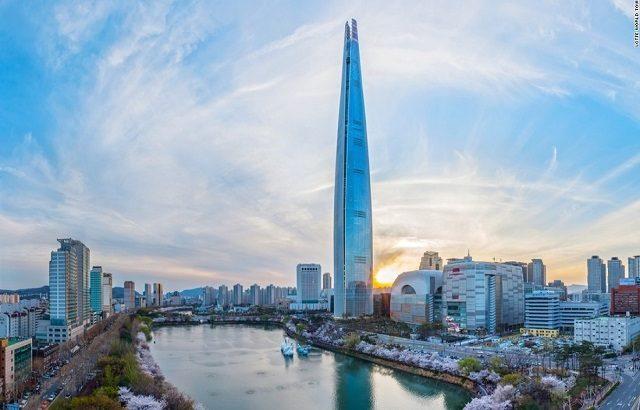 Những kỷ lục của Lotte World Tower – tòa nhà cao nhất Hàn Quốc