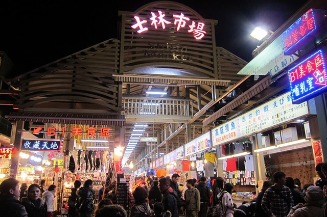 Chợ đêm Sỹ Lâm (Siilin Market) rộng lớn