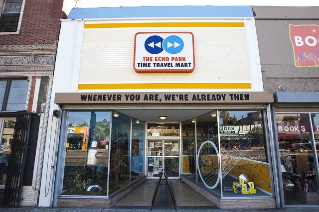Time Travel Mart cửa hàng xuyên không hấp dẫn ở Mỹ
