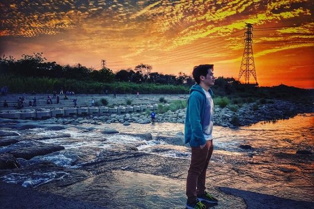 Sông Touqian điểm đến lý tưởng nhất để ngắm hoàng hôn