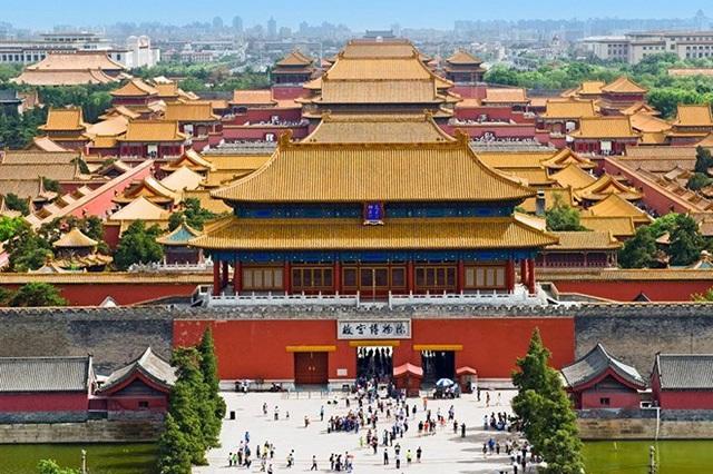 Cung điện cổ ở Bắc Kinh, Trung Quốc