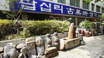 Dapsimni – nơi có nhiều món đồ cổ giá trị ở Seoul