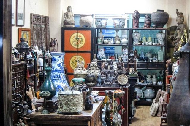 Bạn sẽ tìm thấy món đồ cổ ưng ý tại Dapsimni